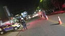 Guarda usa spray de pimenta e bomba para dispersar desobedientes