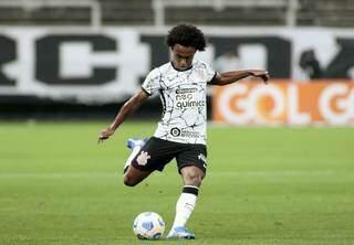 Wilian, jogador do Corinthians, durante a partida. (Foto: Foto: Rodrigo Coca / Ag. Corinthians)