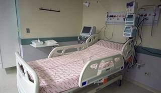 UTI covid do Hospital Regional de Campo Grande. (Foto: Edemir Rodrigues/Subcom-MS)