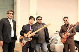 Banda Wísque de Segunda fecha o domingo com blues. (Foto: Divulgação)
