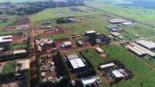 Polo Industrial Oeste em Campo Grande. (Foto: Prefeitura de Campo Grande)