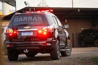 Equipe do Garras também participou de operação. (Foto: Arquivo)