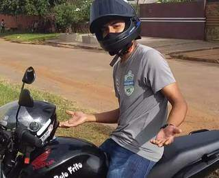 Bruno em foto postada no Facebook. (Foto: Divulgação / Facebook)