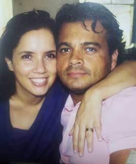Fernando e Cristiane começaram a namorar na década de 80 e estavam juntos desde então. (Foto: Arquivo Pessoal)