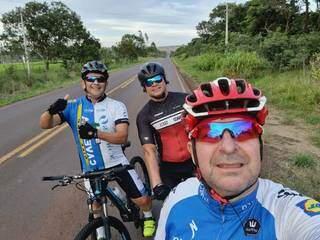 Ciclista incentivou muitos amigos a aderirem ao esporte. (Foto: Arquivo Pessoal)