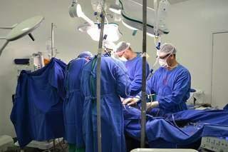 Transplantes diminuíram ainda mais com pandemia. (Foto: Divulgação/Santa Casa de Campo Grande)