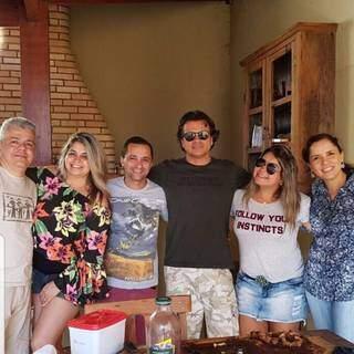 Fernando era um homem caseiro, que gostava de estar junto com a família. (Foto: Arquivo Pessoal)