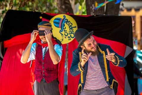 Domingo na 14 de Julho tem circo, histórias infantis e blues