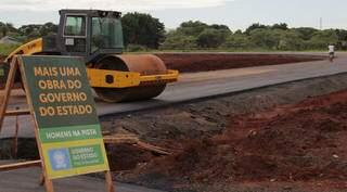 Obras diversas são realizadas em todo o Mato Grosso do Sul, melhorando infraestrutura e logística local. (Foto: Chico Ribeiro/Divulgação)