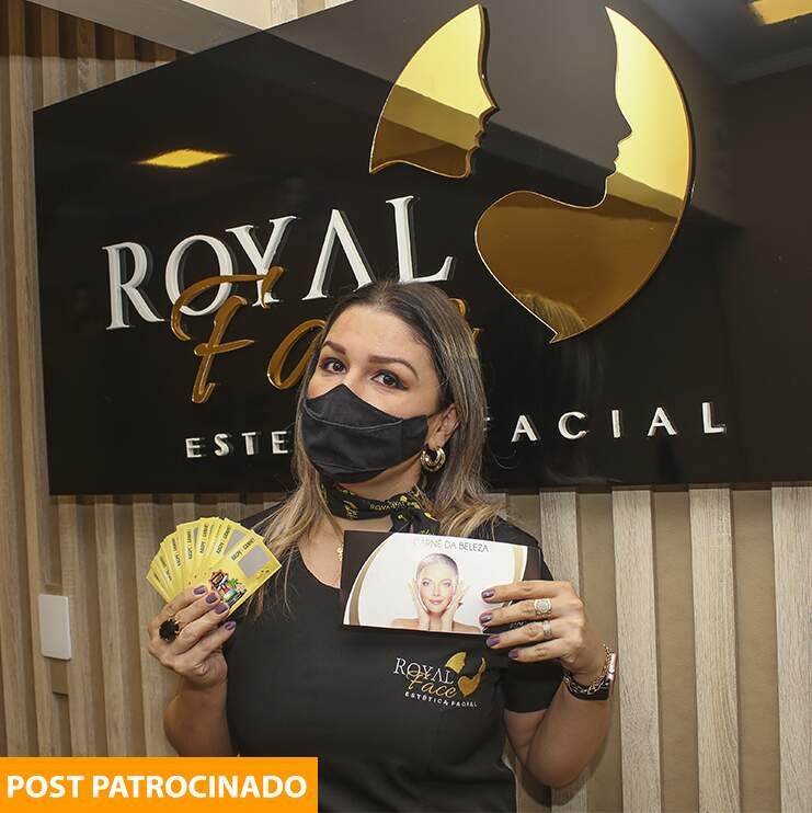 Raspadinha da Royal Face tem 20 mil prêmios e super viagem