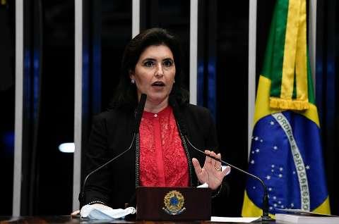 """""""Desrespeitosa"""", diz defensoria sobre postura de ministro contra senadora de MS"""
