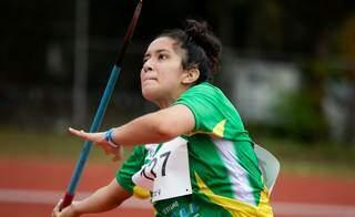 Atleta sub-18, Isabela Rosa Dantas, da Associação Desportiva Atletas de Cristo (Adac), de Campo Grande. (Foto: Wagner Carmo/CBAt)