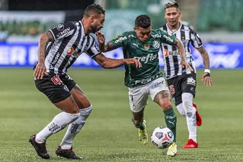 Hulk perde pênalti e Palmeiras e Atlético-MG empatam sem gols no Allianz Parque