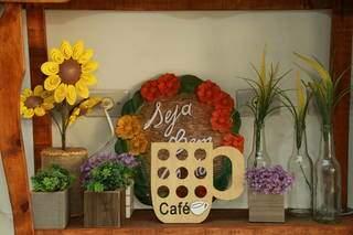 Além da comida boa, proprietária quer trazer conforto para os clientes. (Foto: Kísie Ainoã)