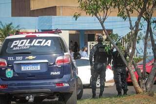 Polícia foi acionada para acompanhar votação. (Foto: Marcos Maluf)