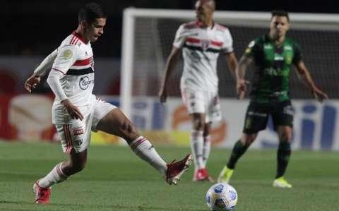 São Paulo e América-MG não saem do 0 a 0 no Morumbi