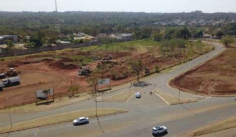 Interdição de via de acesso ao Parque dos Poderes segue até sexta