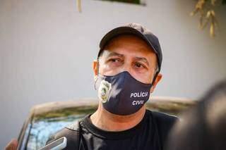Delegado Maércio Alves Barbosa, responsável pela investigação do caso. (Foto: Henrique Kawaminami)