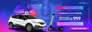 Guará Renault está cheia de vantagens no Captur Experience