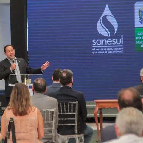 Sanesul compra caminhões e amplia sistemas de água e esgoto por R$ 12 milhões