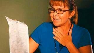 Celia Castedo Monasterio, presa ontem pela Polícia Federal. (Foto: Reprodução)