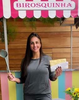 Birosquinha é quiosque que fica do lado de fora para fritar salgados. (Foto: Suzana Serviam)