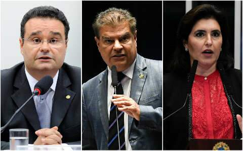 """Nelsinho, Simone e Fábio integram """"elite parlamentar"""" do Congresso"""