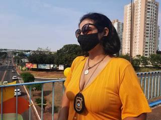 Investigadora da Deam, Viviane Nunes. (Foto: Caroline Maldonado)