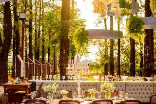 Festa foi em meio a natureza da fazenda do pai da noiva, que fica em Dourados. (Foto: Top Studio Fotografia)
