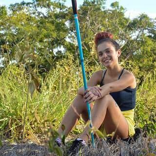 Pamella, em uma das fotos no Facebook. (Foto: Divulgação / Facebook)