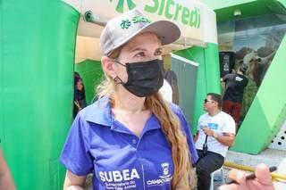 Titular da Subea, Ana Cristina Camargo da Costa (Foto: Henrique Kawaminami)