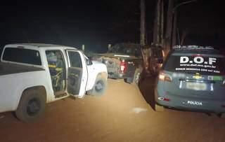 Veículos recuperados estavam com placas falsas (Foto: Divulgação)