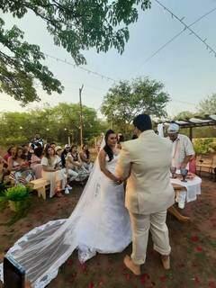 Cerimônia aconteceu no restaurante Giu Gastronomia. (Foto: Arquivo Pessoal)