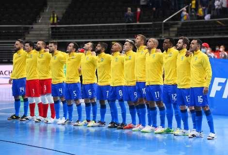 Em busca do hexa no futsal, Brasil encara o Marracos na Copa do Mundo