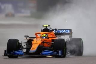 Carro de Lando Norris, da McLaren, um dos principais destaques da categoria nesta temporada (Foto: Divulgação/Reprodução Twitter)