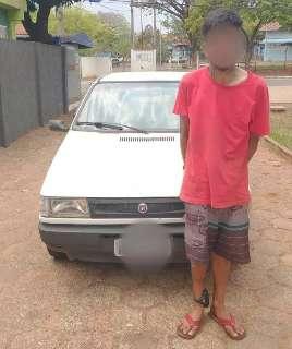 De tornozeleira eletrônica, homem furta carro e diz que era para ir a córrego