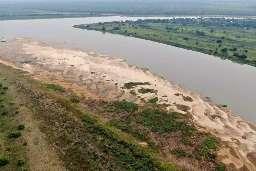 Rio Paraguai atinge nível negativo de um metro e meio