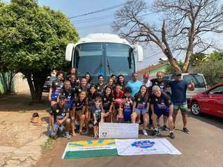 Time da Serc/UCDB celebra classificação em Mato Grosso (Foto: Divulgação)