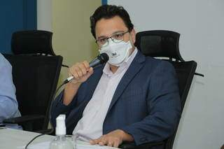 Secretário municipal de Finanças, Pedro Pedrossian Neto. (Foto: Izaias Medeiros/CMCG)