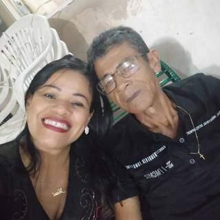Tavinho Vieira foi um dos maiores incentivadores para a filha seguir carreira na música. (Foto: Arquivo Pessoal)