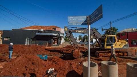 Trecho interditado para obras é ampliado na Pedro Celestino