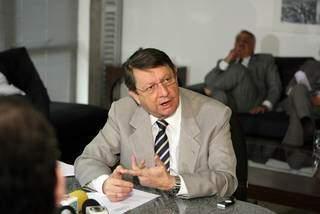 Ex-deputado estadual Ary Rigo está internado em estado grave na UTI da Unimed. (Foto: Giuliano Lopes)