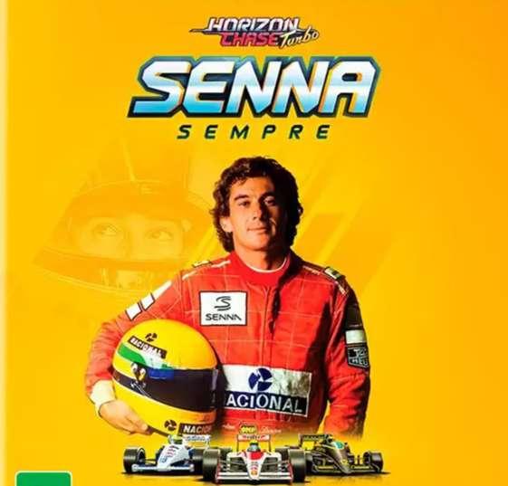 Ayrton Senna vai acelerar nas pistas de Horizon Chase Turbo