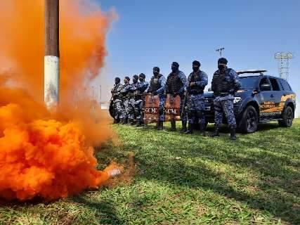 Treinados pelo Bope do RJ, guardas integram grupo focado em aglomerações