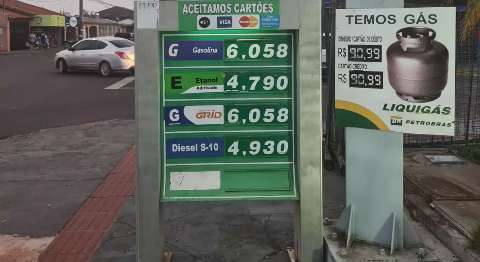 Preço do diesel subiu hoje, mas posto já vendeu mais caro ontem