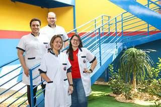 Escola possui uma equipe técnico-pedagógica altamente qualificada. (Foto: Henrique Kwaminami)