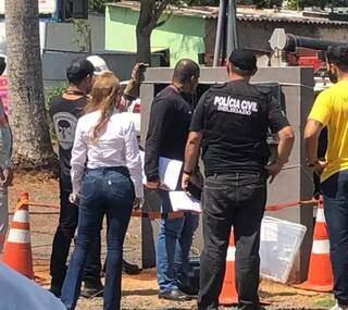 Polícia fiscaliza 37 locais da região norte. (Foto: Divulgação/Polícia Civil de MS)