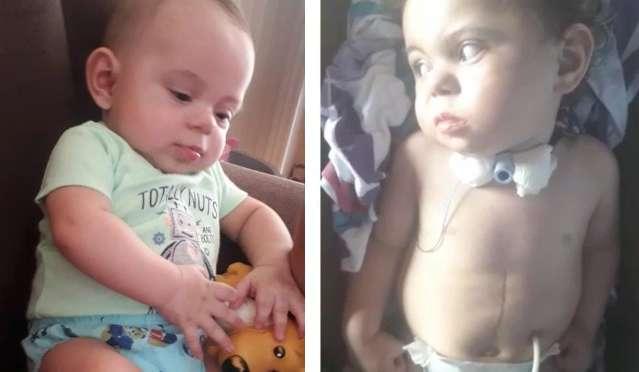 Alysson sofreu paralisia cerebral aos 7 meses e mãe implora por ajuda