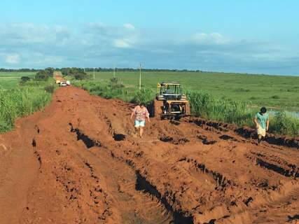 Parte de pacote de obras em Ribas, asfalto da MS-338 custará R$ 88 milhões