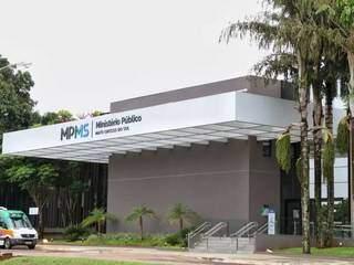 Sede do MPMS, no Parque dos Poderes. (Foto: Marcos Maluf/Arquivo)